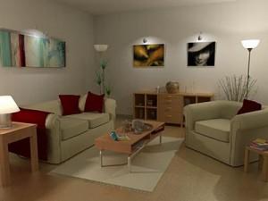 Jak optycznie powiększyć niewielkie pomieszczenie?