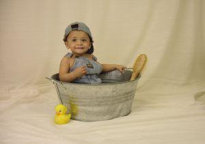 Dziecko bezpieczne w łazience
