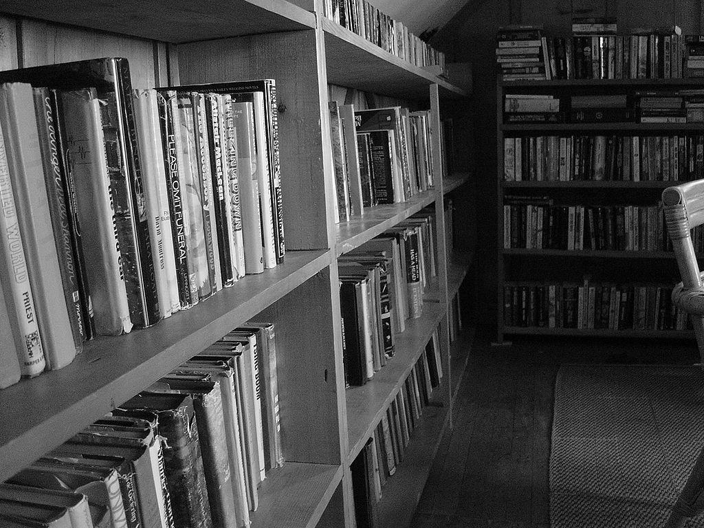 Czarno - białe książki