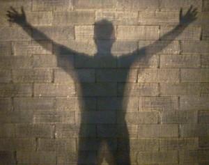 przezroczysta ściana