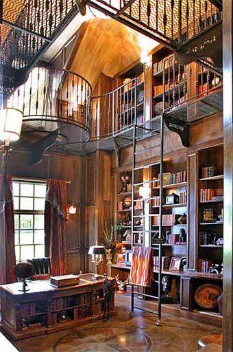 Oaza ciszy – biblioteczka w domu
