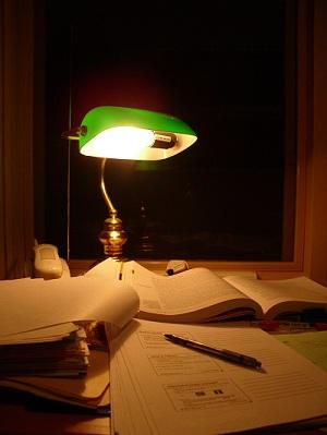 Kąt do nauki i pracy